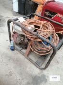 Stephill Petrol Generator (spares or repair ) Advised runs but cradle holding engine requires