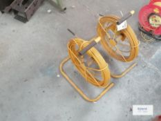 2 x EZiROD 50 Flexible Tracing Rod Serial No 60193/94
