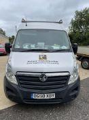 Vauxhall Movano F3500 L2 H2 CDTI 100, 2,2299cc, 6 Speed Manual Diesel Panel Van, Registration No.