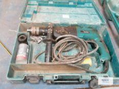 Makita HR2450 110 volt Rotary hammer drill Serial No 850820AO