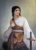 Judith, die Bezwingerin des HolofernesÖl/Leinwand. Kopie nach August Riedel (1799 Bay