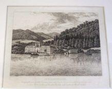 Karl Gottlieb Traugott Faber, 1786 Dresden - 1863 ebendaRadierung/Papier. Ansicht vom