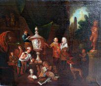 Umkreis Jan Josef Horemans der Ältere, 1682 Antwerpen – 1759 ebendaÖl/Leinwand. Im