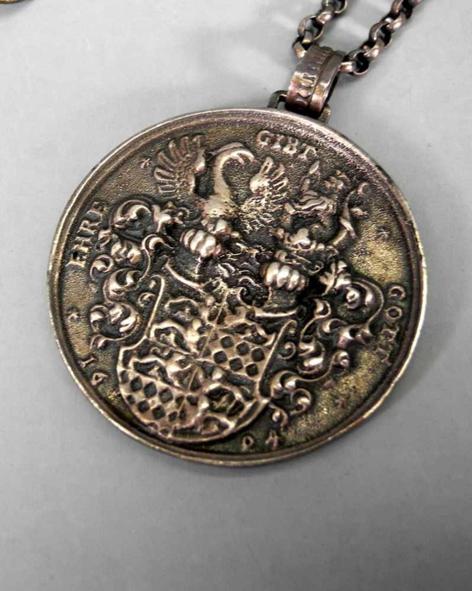 Trachtenschmuck-KonvolutSilber 800, 835 und Sterling. Das Konvolut besteht aus 14 Teil - Image 4 of 8