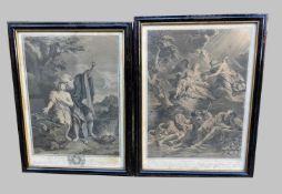 Pierre Imbert Drevet, 1697 Paris - 1739 ebendaLithographie/Papier. Darstellung des Geb