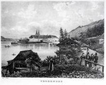 Wohl Jacob Alt, 1789 Frankfurt am Main – 1872 WienStahlstich/Papier. Tegernsee. Unte