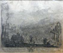 Johann David Curiger, 1707 Augsburg – 1737 ebenda Kupferstich/Papier. David führt,