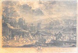 Anbetung Christi Kupferstich/Papier. Ungewöhnliche Darstellung nach Franz Joachim Bei
