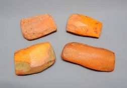 Konvolut von Rohbernstein Das Konvolut besteht aus 4 Segment in feiner Butterscotch-Fa
