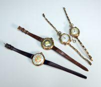 Konvolut von vier Taschenuhren