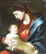 Meisterliches Gemälde der Maria mit dem Jesuskind