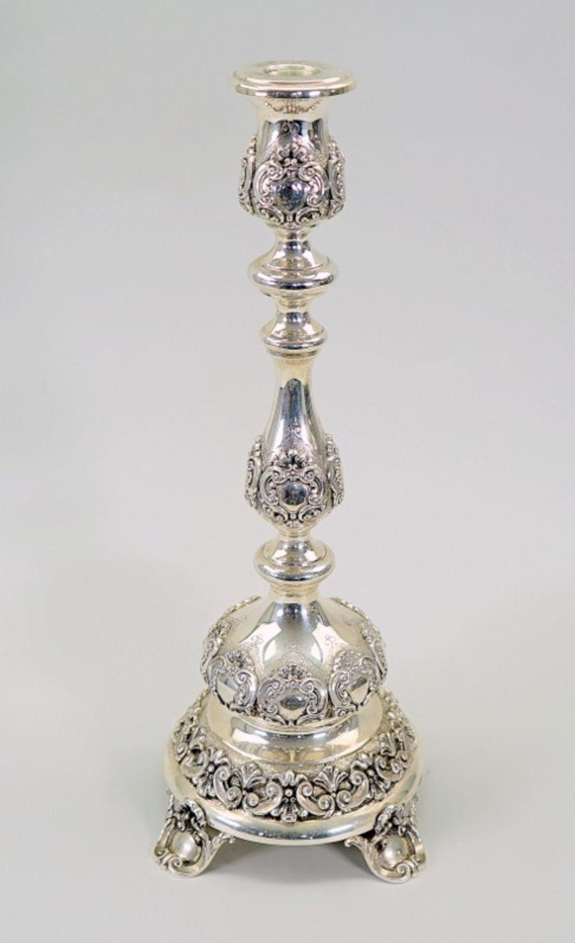 Silber-Kandelaber - Image 2 of 8
