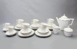 KPM, Kaffeeservice für zehn Personen