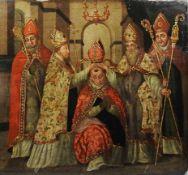 Krönung von Papst Martin V. beim Konstanzer Konzil