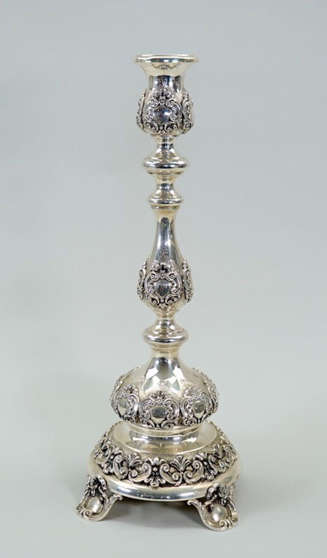 Silber-Kandelaber