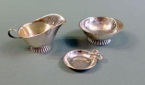 Konvolut an Silberschälchen