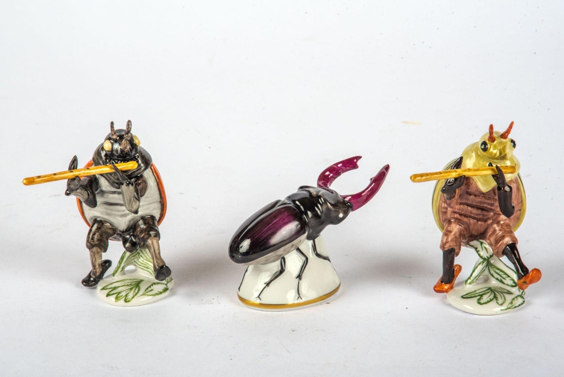 Drei Tierfiguren