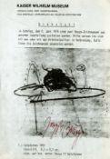 Beuys, Joseph: Kaiser-Wilhelm-Museum/Diebstahl