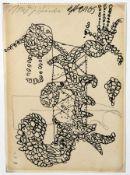 Fassbender, Joseph: Biomorphe Komposition