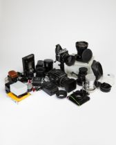 Hasselblad Cameras and Equipment, Mixed Lot
