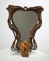 Art Nouveau Mirror, Fachschule/College Bozen