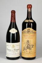 2 Magnum Wine bottles