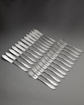 Peter Behrens, Fish Cutlery Mod. 8002, 12 persons