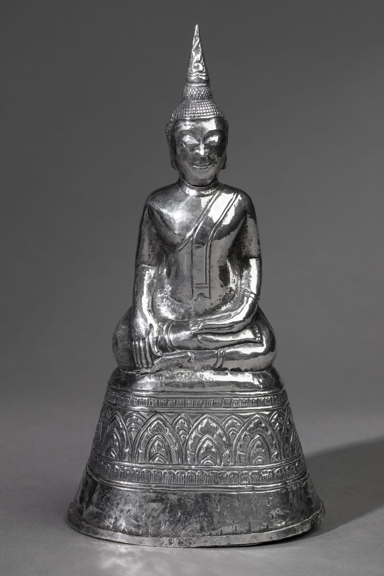 Silver Buddha Bhumisparsha Thailand