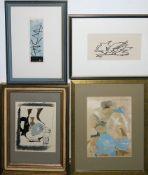 Georges Braque, Konvolut von 4 Arbeiten, alle gerahmt