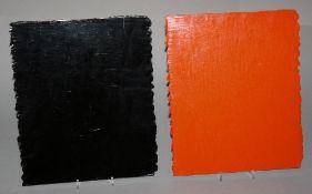 "Bernard Aubertin, ""Cache - Cache No 6"", Acryl, 2000"
