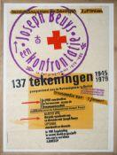 """Joseph Beuys, """"een konfrontatie, 137 tekeningen 1945-1979"""", signierter Siebdruc"""