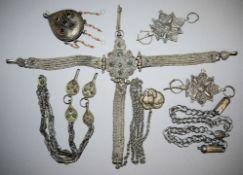 Sammlung Berberschmuck Tunesien, Algerien und Marokko, 19. Jh./ 1.H. 20. Jh.