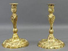 Paar Augsburger Leuchter
