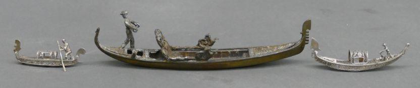 3 Schiffsmodelle