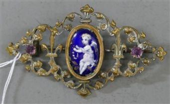 Brosche, um 1900