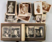 Sammlung von Original-Fotografien Ostpreußen120 Fotografien, u.a. Cartes de Visite u. Carte