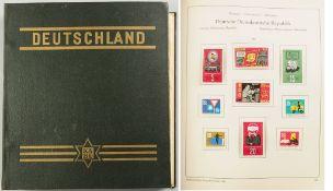"""Briefmarken-Album""""Deutschland ab 1945. Jugend-Ausgabe Nr. 137"""", hrsg. vom VEB KA-BE-Briefmark"""