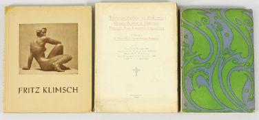"""Konvolut Bücher3-tlg. Friedrich Ahlers-Hestermann: """"Stilwende. Aufbruch der Jugend um 1900."""""""