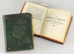 """Paar Kommersbücher""""Allgemeines Reichs-Commersbuch für deutsche Studenten,"""" Hrsg. von Mülle"""