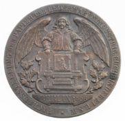 Medaille BerlinSilber, patiniert. Ehrenpreis der Stadt Berlin anlässlich der Fachausstellung