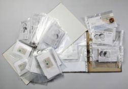 Münzsammlung von 72 Silber-GedenkprägungenEnthält Jg. 1999 (9 Münzen), darunter die vergo