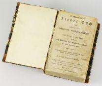 """""""Mildheimisches Lieder-Buch"""""""".von acht hundert lustigen und ernsthaften Gesängen über alle"""
