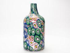"""Murano Flasche """"Mille Fiori"""""""