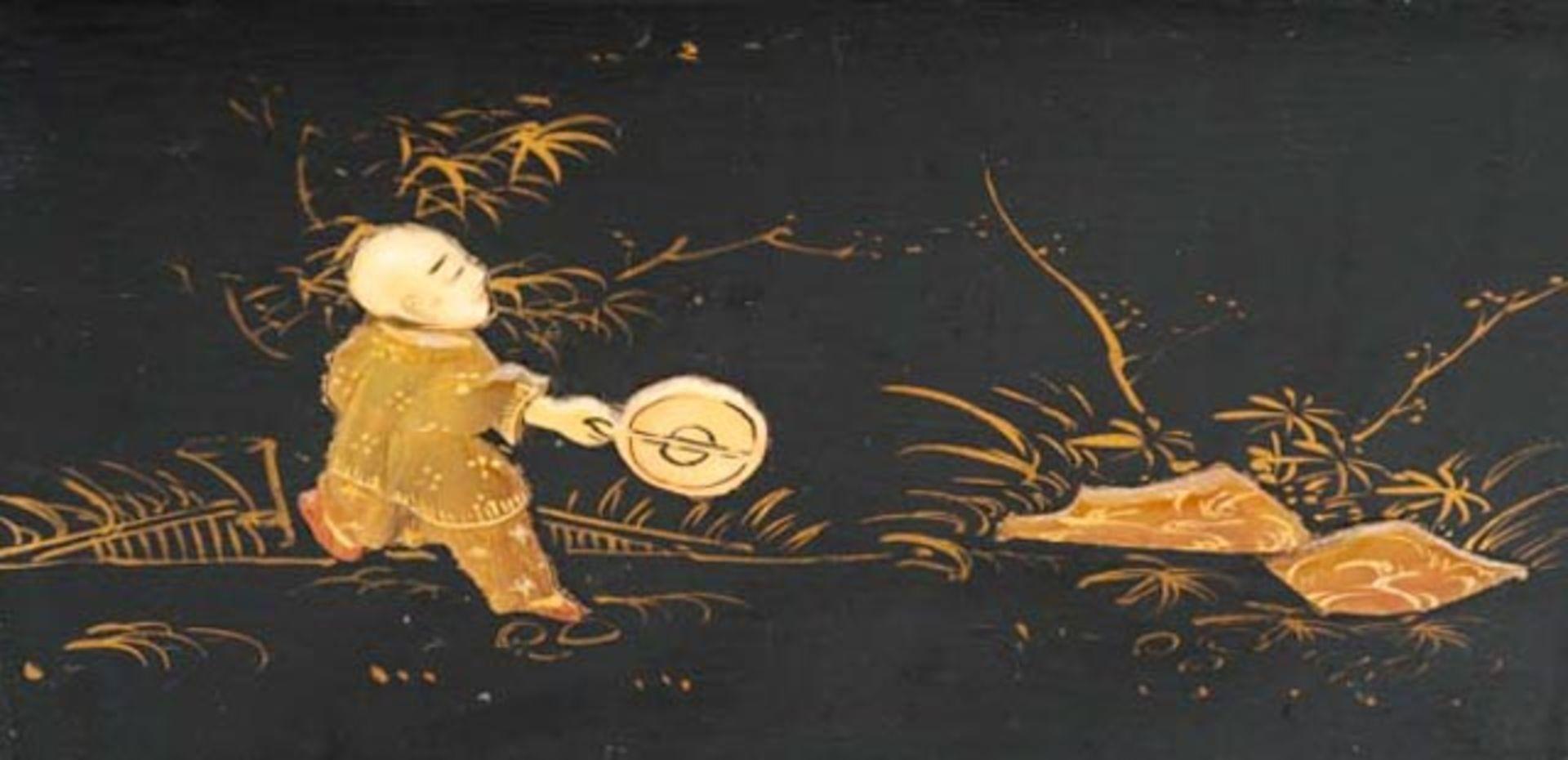 Prunkvolle asiatische Truhe - Image 10 of 17