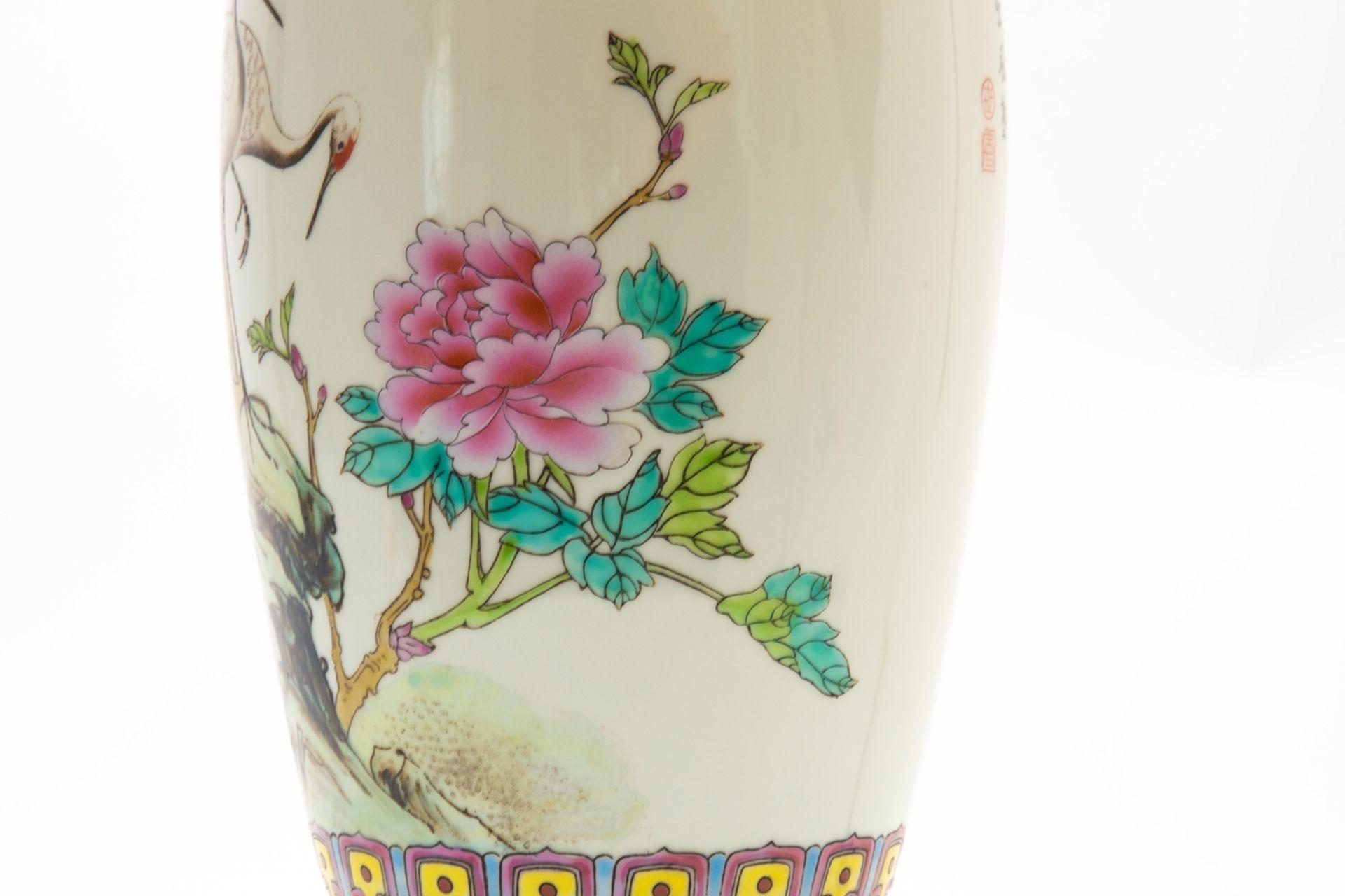 Porzellan-Lampe/Vase - Image 4 of 7