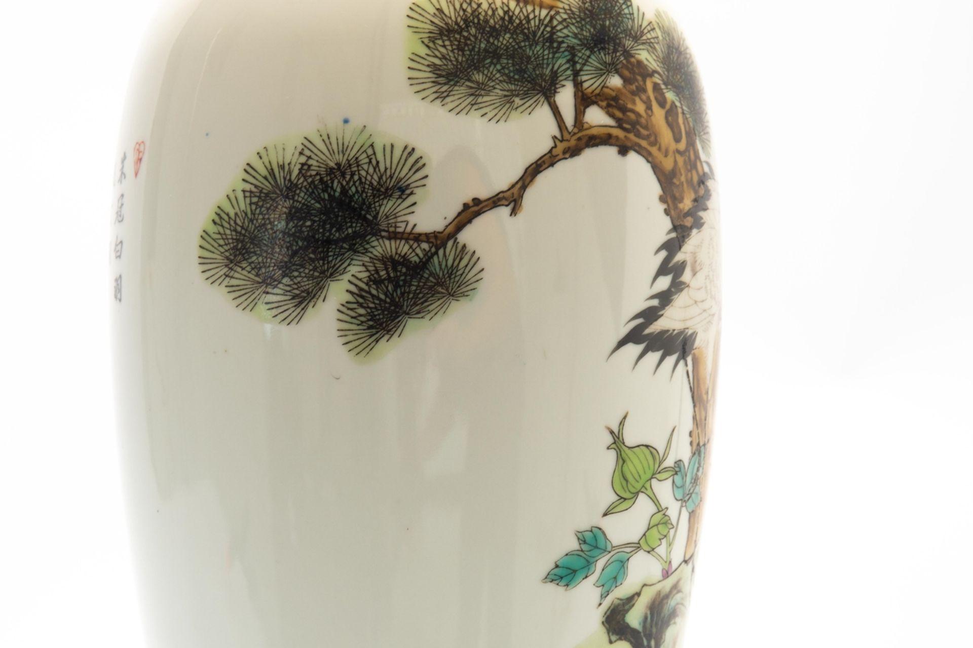 Porzellan-Lampe/Vase - Image 6 of 7
