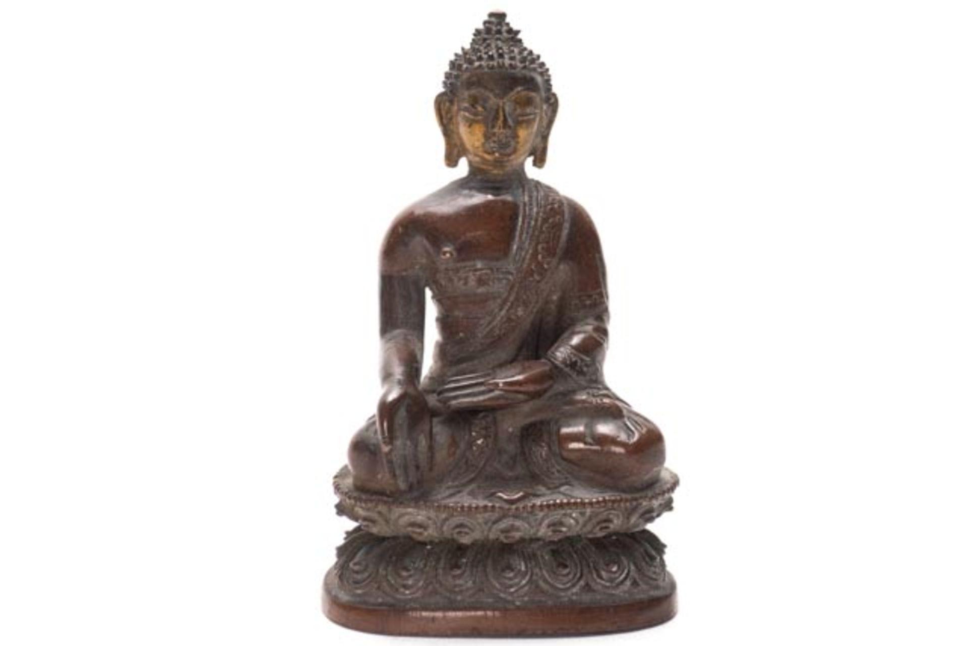 Bronze Buddha - Image 5 of 6