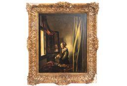 """Gemälde """"Frau am Fenster"""""""