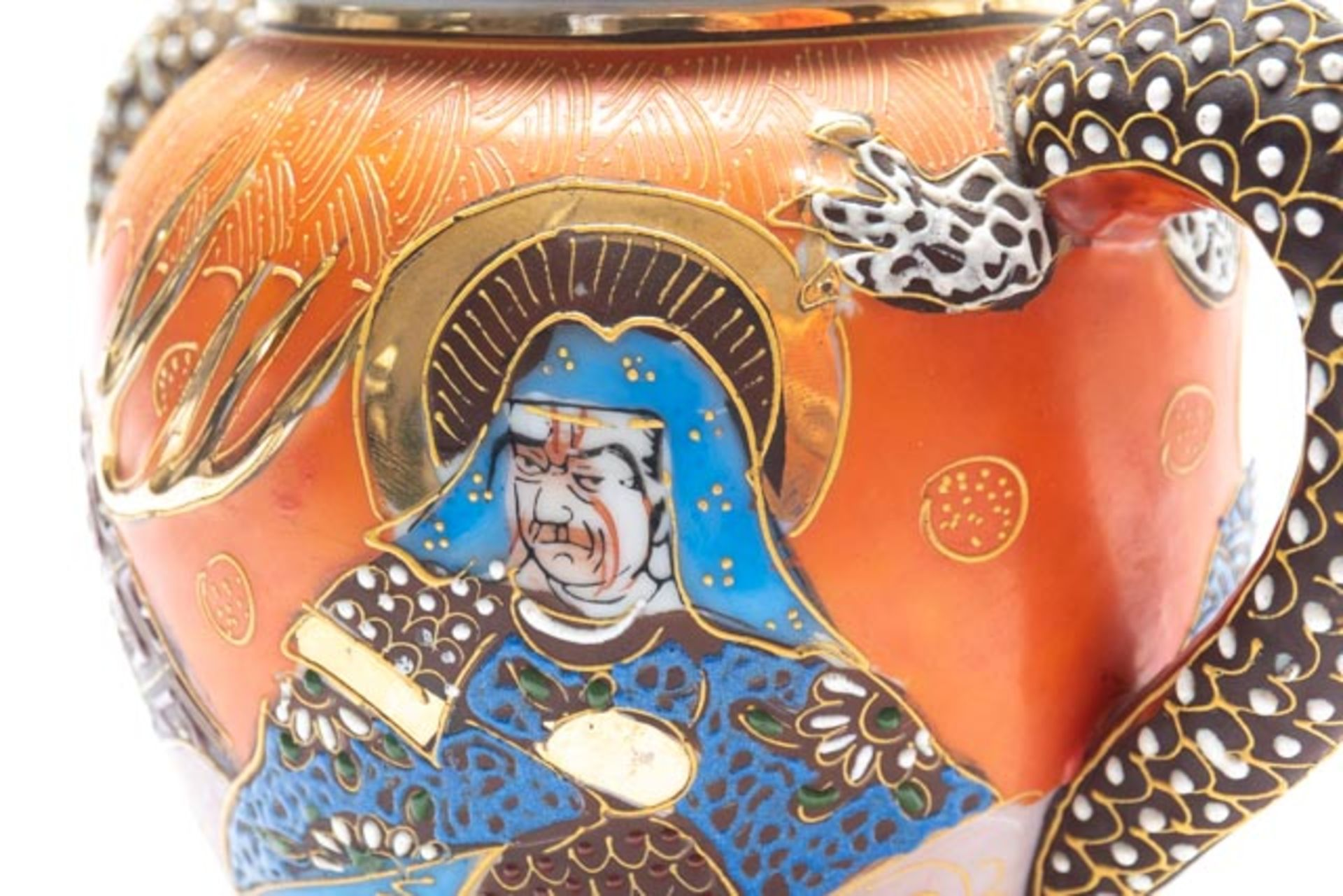Prunkvolle asiatische Deckeldose - Image 8 of 14