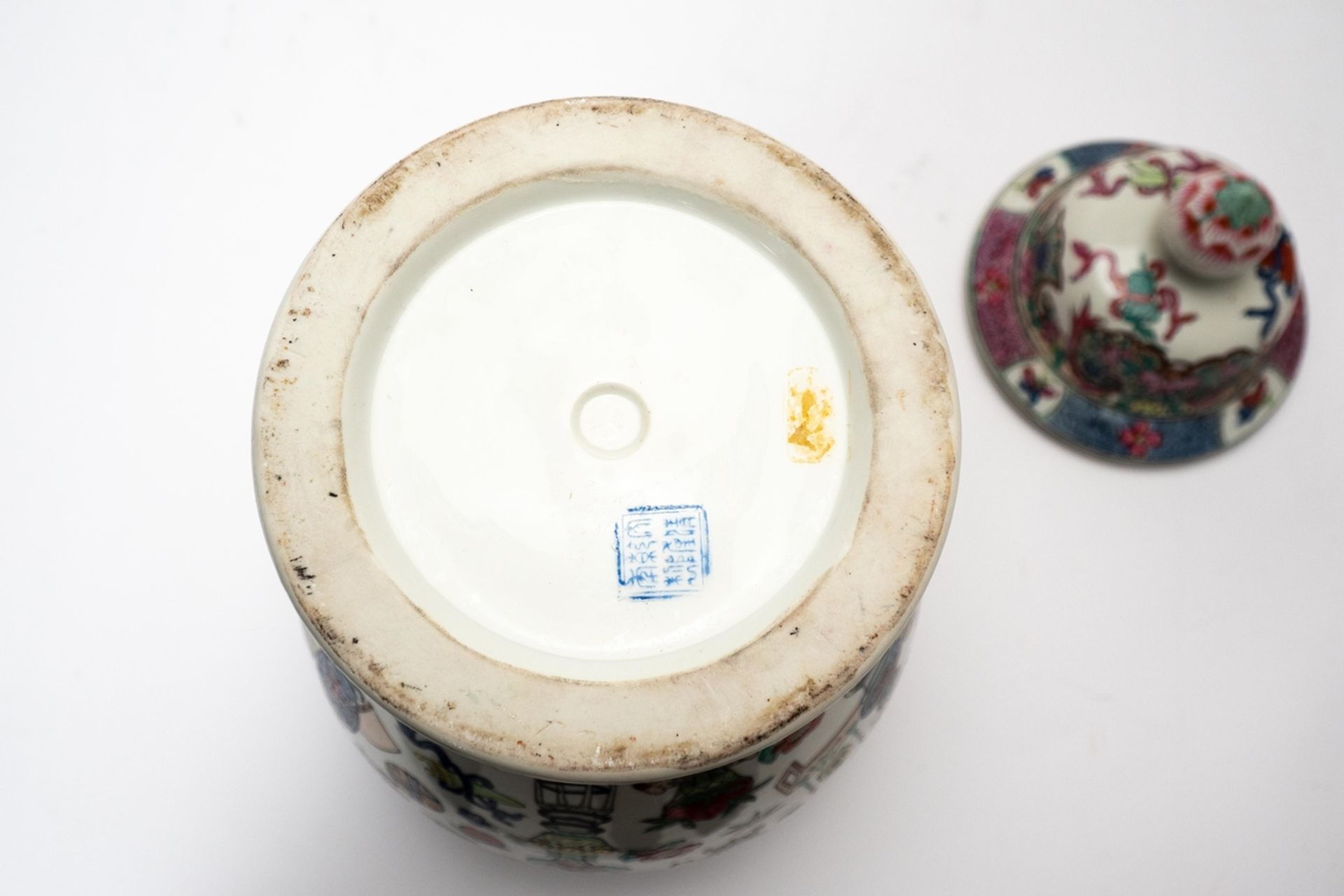 Deckelvase China - Image 5 of 5